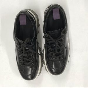 Eytys Shoes - EYTY'S chunky black shiny glossy sneaker